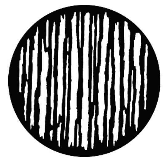 Steel Gobo - Linear Breakup