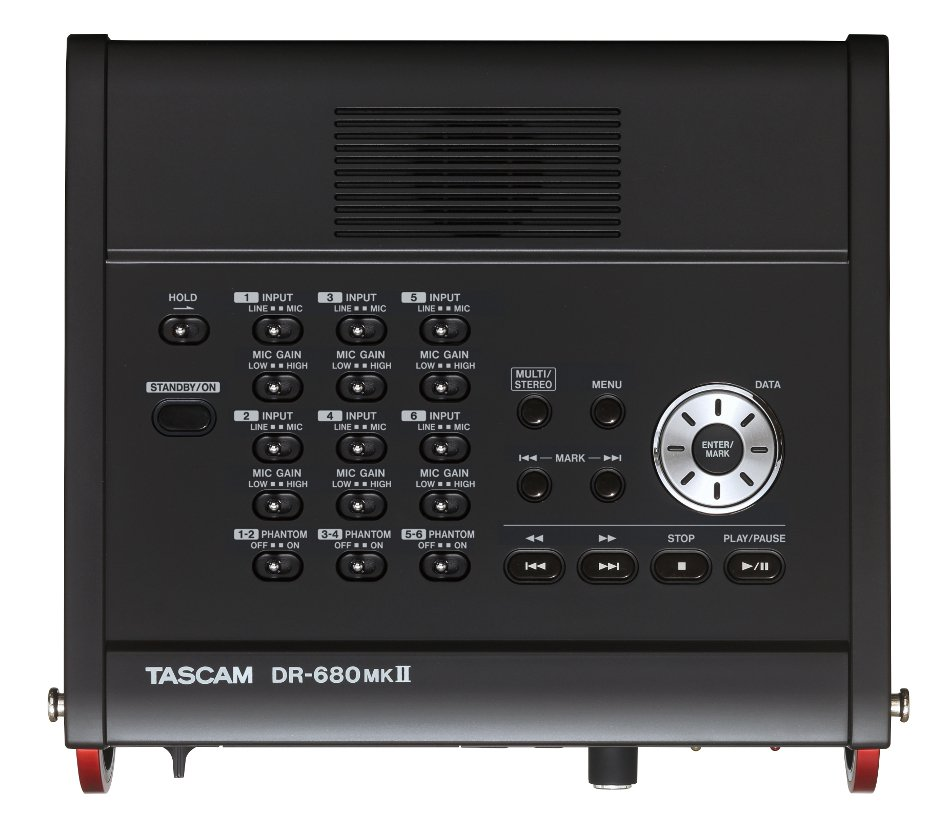 Tascam DR-680MKII  Portable 8-Channel Digital Field Recorder DR-680MKII