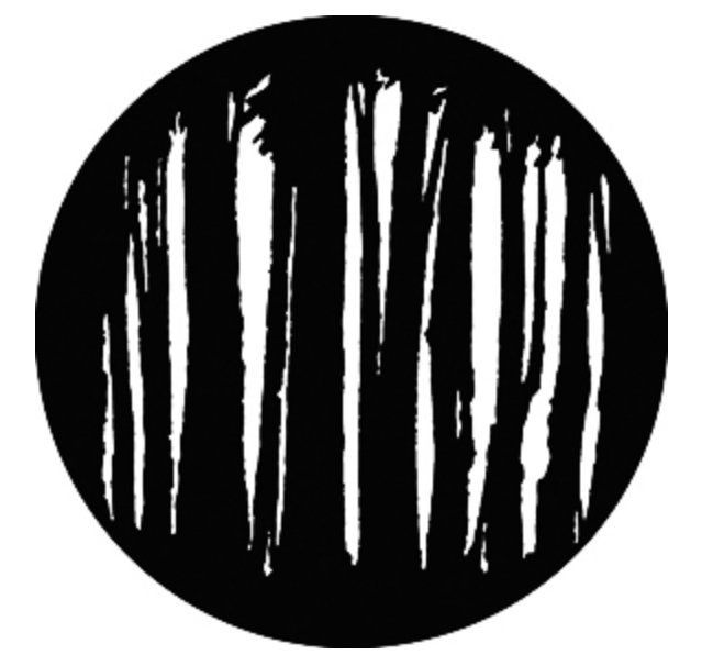 Steel Gobo - Large Trees
