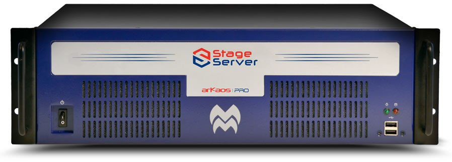 Stage Server V2 with 2 Outputs and Media Master Pro