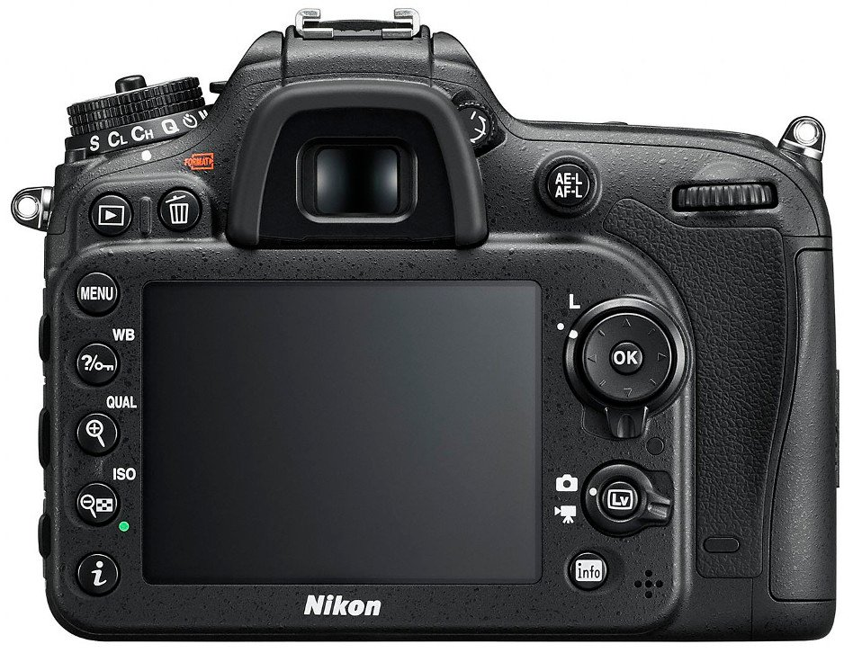 24.2 MP D7200 Body Only in Black