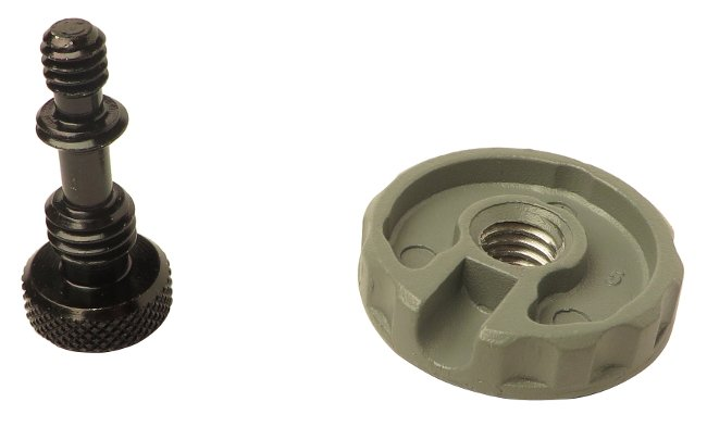 "1/4"" Camera Screw with Thumbwheel for 3126"