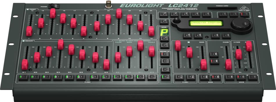 24-Channel DMX Lighting Console