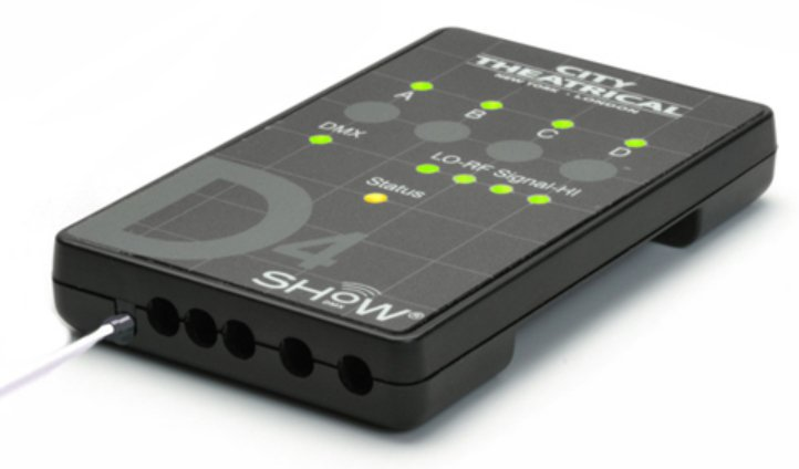 4 Channel DMX Dimmer Control with Max Bandwidth Technology
