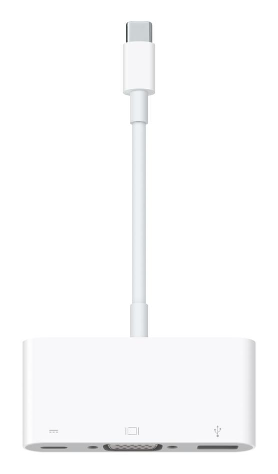 Apple USB-C-VGA-MULTI-ADPT USB-C VGA Multiport Adapter USB-C-VGA-MULTI-ADPT