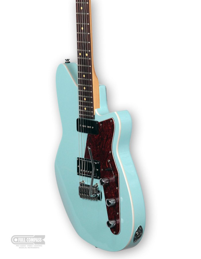 Chronic Blue Electric Guitar