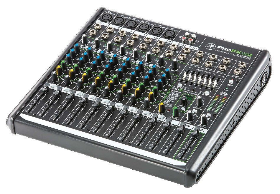 12-Channel Mixer with Onboard Effects Engine and USB I/O