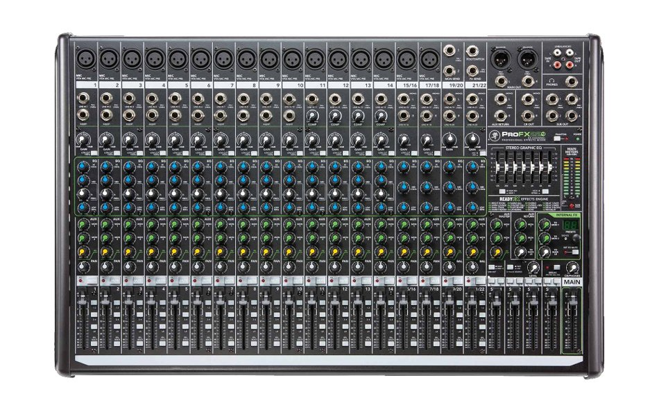22-Channel Mixer with Onboard Effects Engine and USB I/O