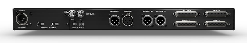 18 x 20 Thunderbolt Audio Interface with QUAD Processing