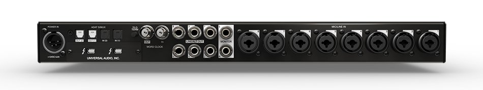 16 x 20 Thunderbolt Audio Interface with QUAD Processing