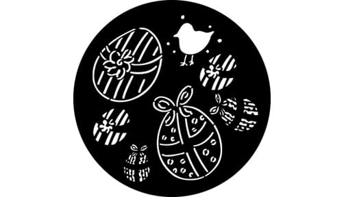 """Easter Eggs"" Pattern Gobo"