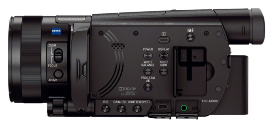 "4K/30p Camcorder with 1"" Sensor"