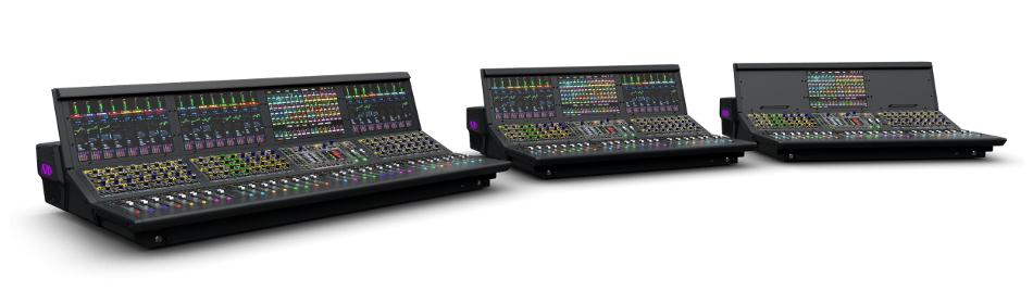 "Avid S6L-24D-CS VENUE   S6L Control Surface with 26 Faders and (3) 12.1"" Touchscreens S6L-24D-CS"