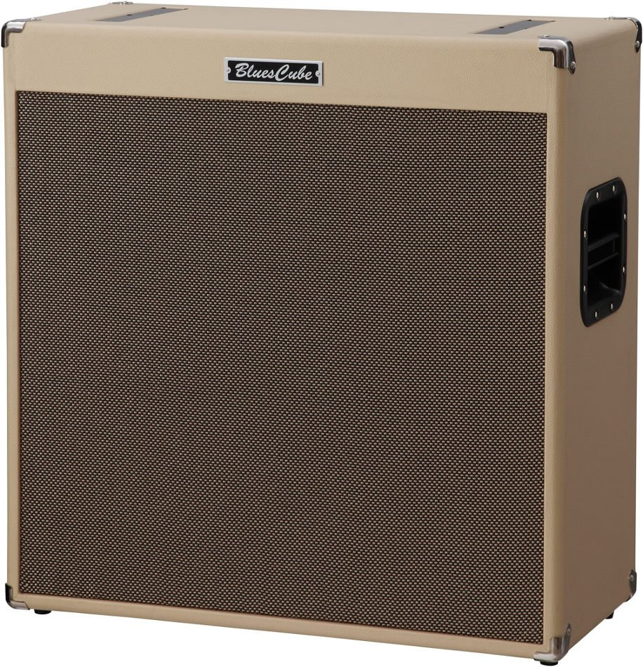 "Roland Blue Cube Cabinet410 4 x 10"" 100 Watt (4 Ohms) Open Back Guitar Cabinet BC-CAB410"