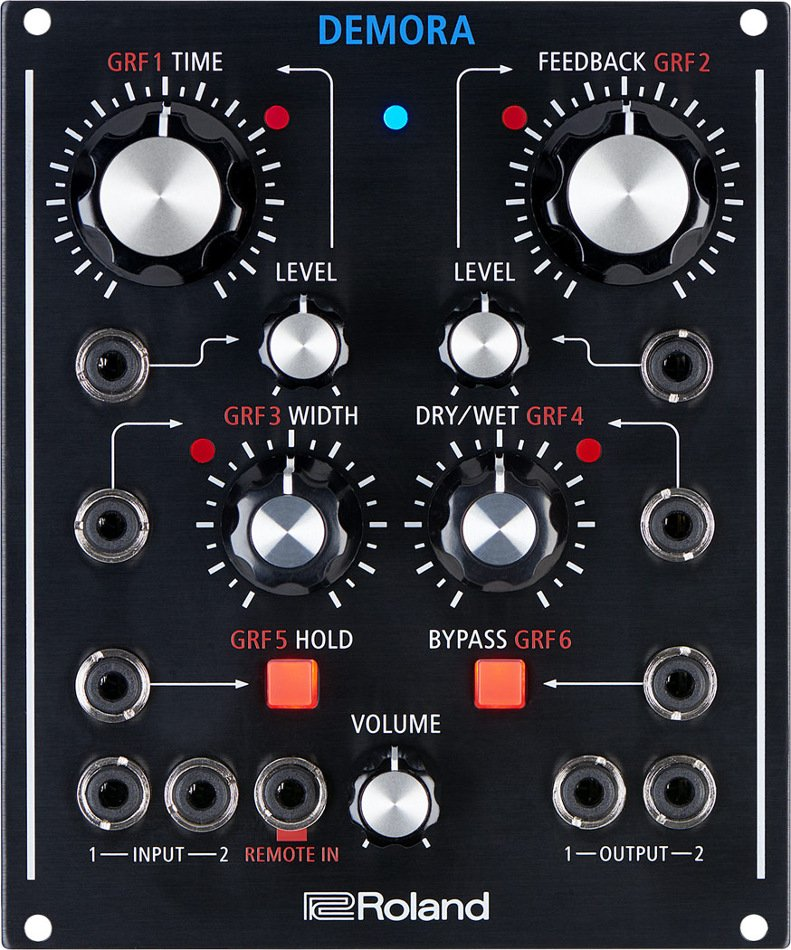 Modular Delay with CV/Gate and Eurorack Compatibility