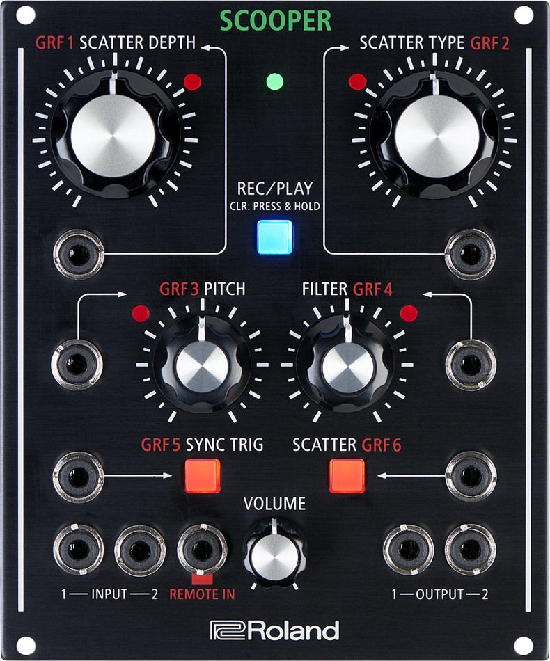 Programmable Scatter Effect with Single-Pass Looper, CV/Gate and Eurorack Compatibility