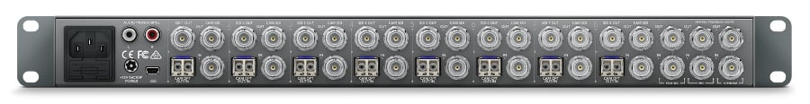 Blackmagic Design ATEM Talkback Converter 4K 1RU ATEM Switcher with 12G-SDI and Talkback SWRCONVRCKT4K8