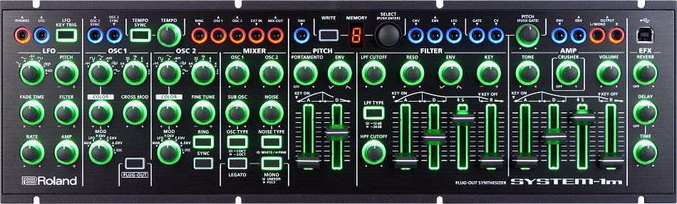AIRA Plug-Out Synthesizer Module with CV/Gate and Eurorack Compatibility