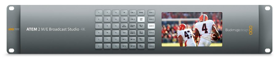 2RU 20 x 12G-SDI Ultra HD Live Production Switcher