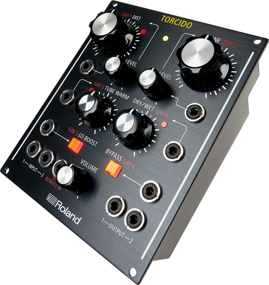 Modular Distortion Unit with CV/Gate and Eurorack Compatibility