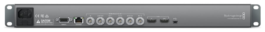 1RU Multi Rate 12G-SDI and HDMI 2.0 Disk Recorder with LCD Screen