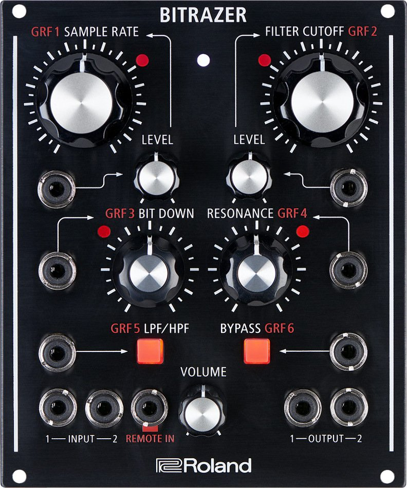 Programmable Crusher Effect with CV/Gate and Eurorack Compatibility
