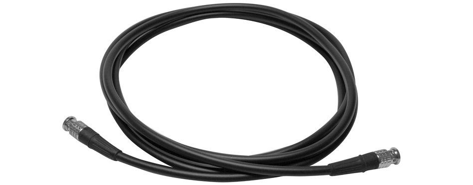 Canare HDSDI-003 3 ft HD-SDI Cable with L-5CFW Cable and BCP-B51F Connectors HDSDI-003