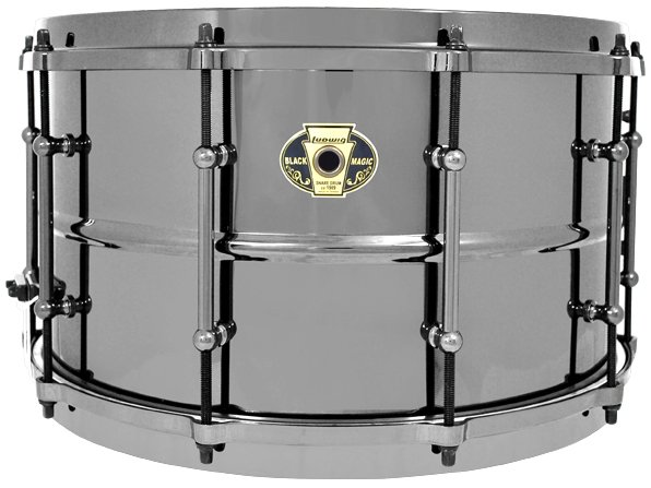 "8""x14"" Black Magic Brass Snare Drum"