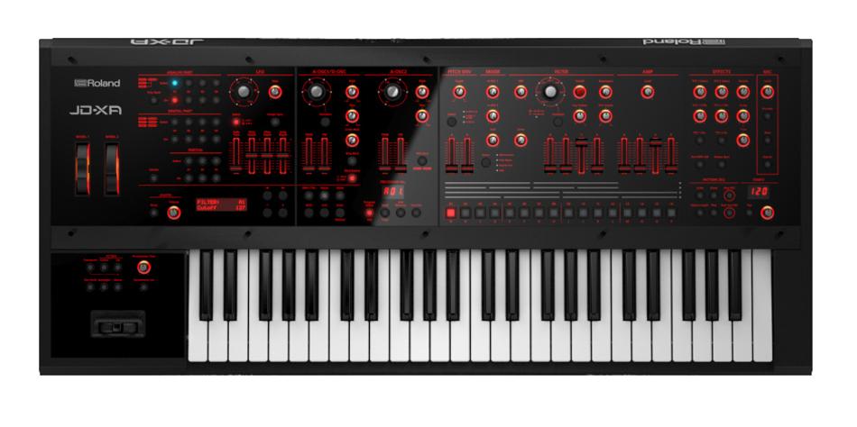 Analog/Digital Crossover 49-Key Synthesizer