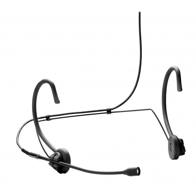 Omnidirectional Headset Microphone in Black for TG 1000 Bodypack Transmitters