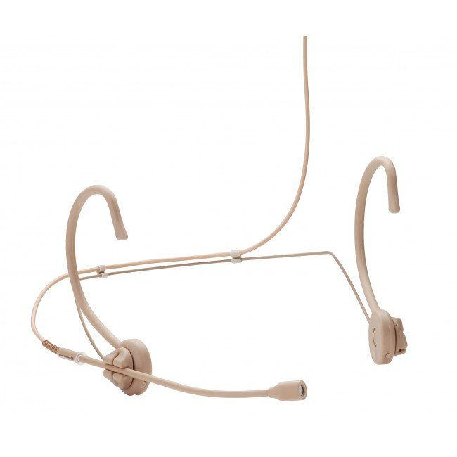 Omnidirectional Headset Microphone in Tan for TG 1000 Bodypack Transmitters