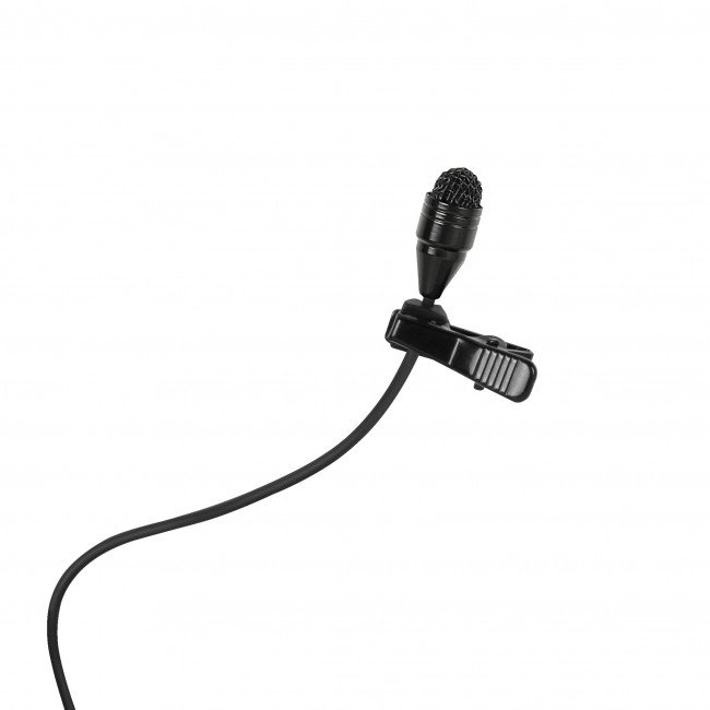 Omnidirectional Lavalier Microphone in Black for TG 1000 Bodypack Transmitters