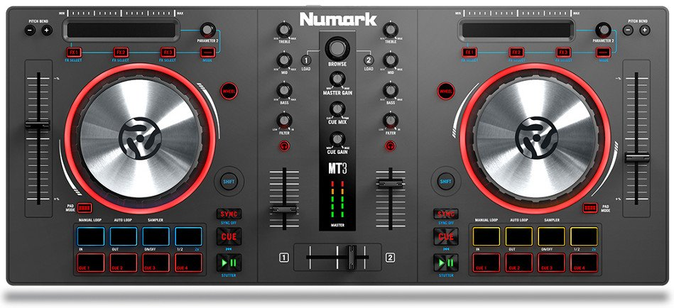 2 Channel DJ Controller
