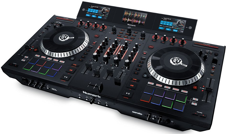4 Deck Serato DJ Controller with Multi-Screen Display