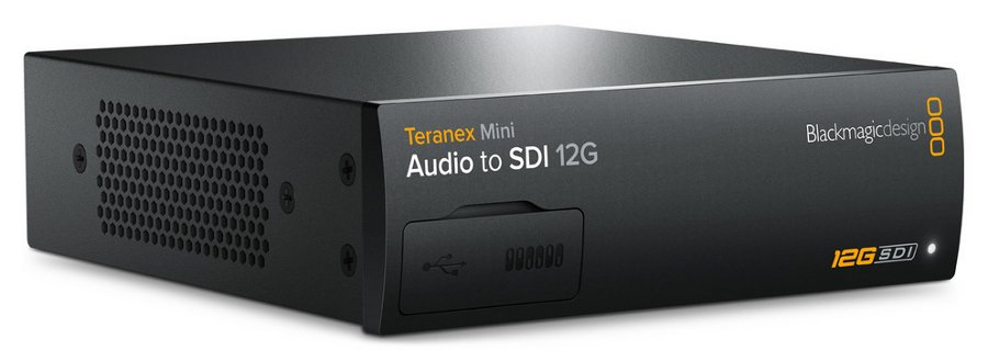 Audio to SDI 12G Mini Converter