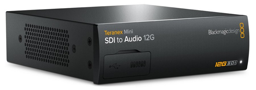 Blackmagic Design Teranex Mini - SDI to Audio 12G SDI to Audio 12G Mini Converter CONVNTRM/CA/SDIAU