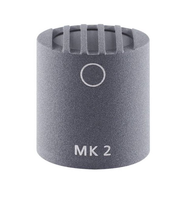 Omnidirectional Condenser Capsule with Matte Gray Finish for Colette Series Modular Microphone System