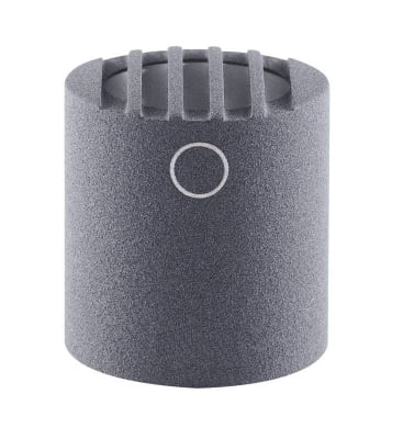 Omnidirectional Diffuse-Field Condenser Capsule with Nickel Finish for Colette Series Modular Microphone System