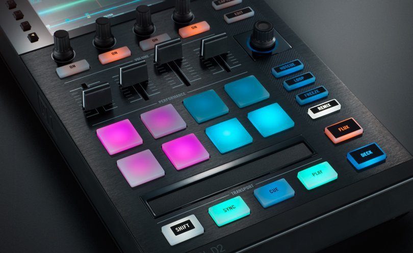 DJ Controller for/with TRAKTOR PRO 2