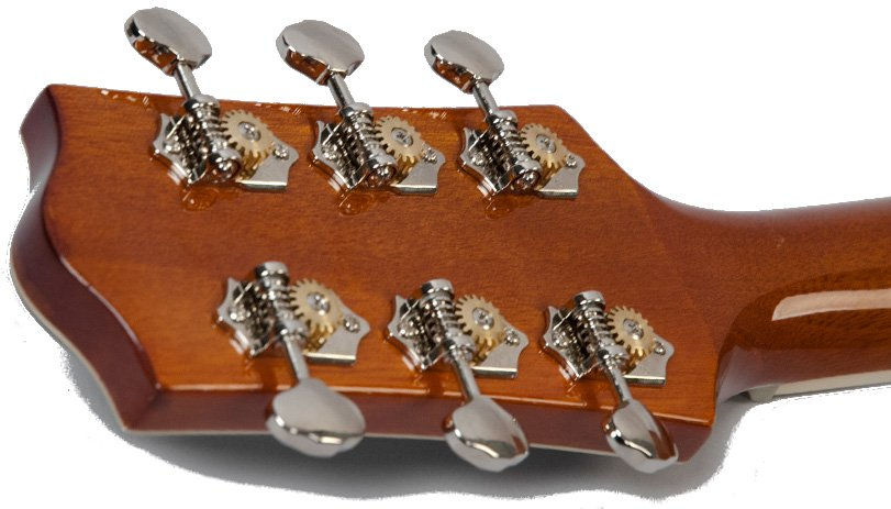 Natural Finish Solid Top Small Body Acoustic Guitar