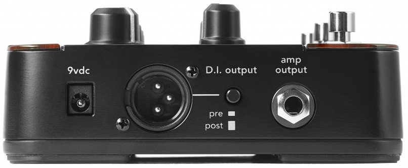 ToneDeq AFX Preamp / EQ / DI with Dual Effects