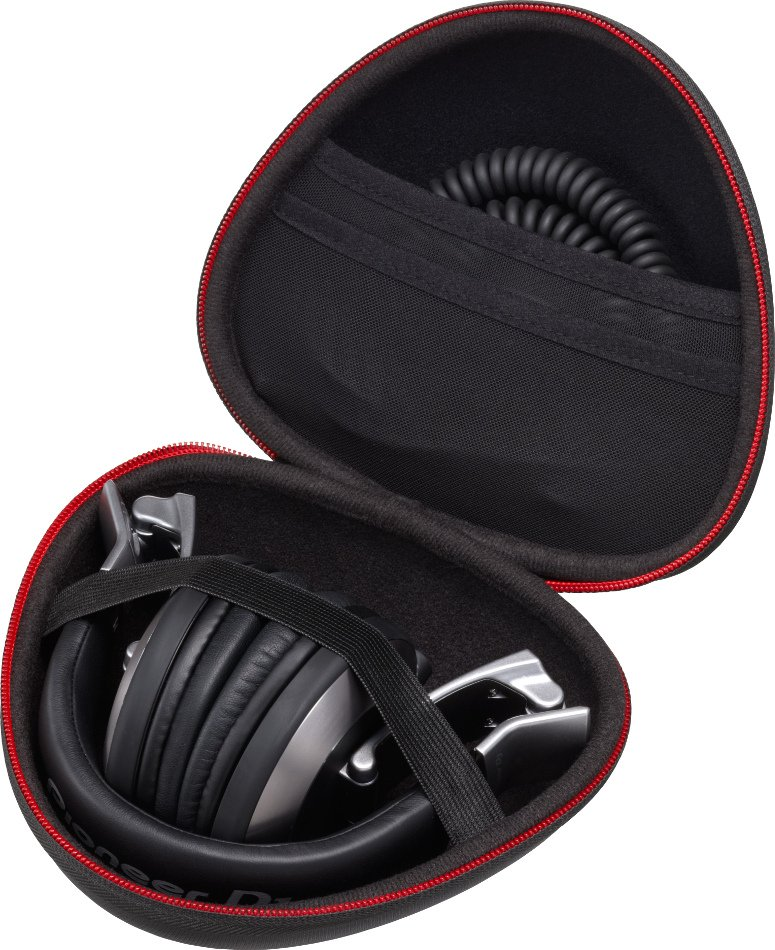 Professional DJ Reference Headphones in Black with Detachable Cable and Rotating Ear Cups