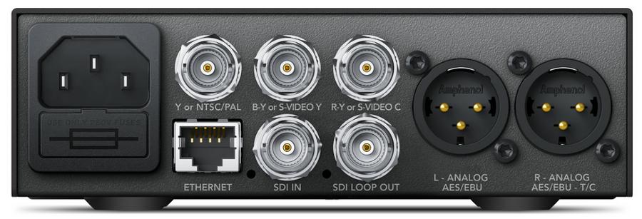 Blackmagic Design Teranex Mini - SDI to Analog 12G 12G-SDI to Analog Video Mini Converter CONVNTRM/BA/SDIAN