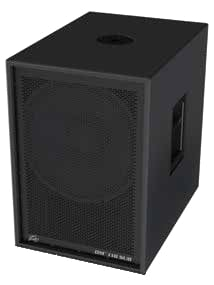 """Dark Matter Series 18"""" Powered Subwoofer with Onboard DSP"""