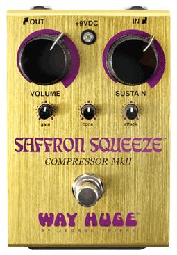Saffron Squeeze Compressor Mk II Effects Pedal