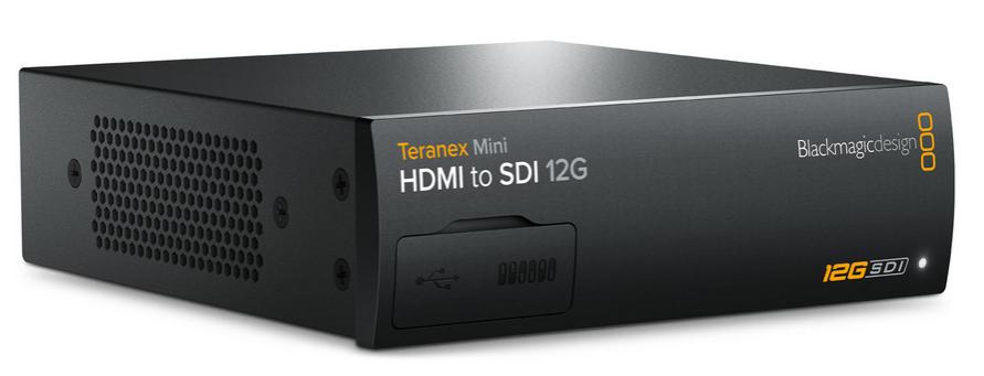 Blackmagic Design Teranex Mini Hdmi To Sdi 12g Hdmi To 12g