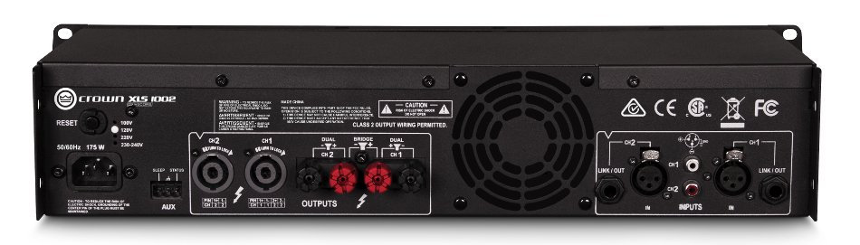 DriveCore™ 2 Series 2-Channel 350W (4 Ohms) Power Amplifier with Onboard DSP