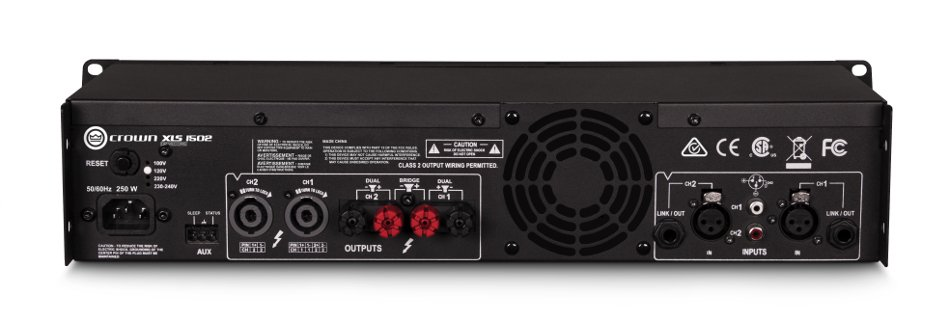 DriveCore™ 2 Series 2-Channel 525W (4 Ohms) Power Amplifier with Onboard DSP