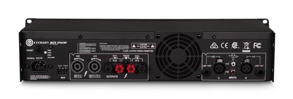 DriveCore™ 2 Series 2-Channel 775W (4 Ohms) Power Amplifier with Onboard DSP
