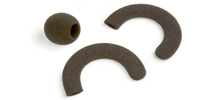 Replacement Ear Cushions & Windscreen for LA-270 Microphone